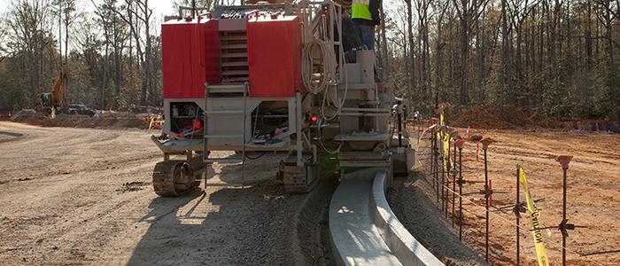 Site Concrete Asphalt Paving Liesfeld Contractor Inc
